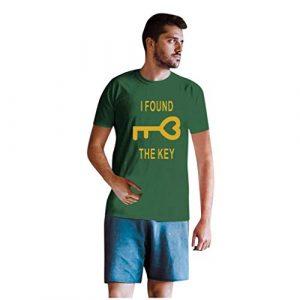 RoMantic T-Shirts pour Hommes et Femmes Saint-Valentin Lettre T-Shirt T-Shirt à Manches Courtes Drôle de nouveauté Sweat Top