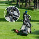 Shilia Nettoyeur de Club de Golf Stable avec Mousqueton rétractable en Aluminium léger et élégant