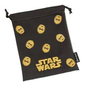 Star Wars Taylormade Golf 2017 Valuables Pouch Mens Golf Accessories Bag Black/Gold C3PO