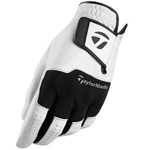 TaylorMade Stratus Cuir LH Gant de Golf – Blanc – L – Paquet de 5