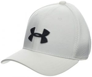 Under Armour Boy's Golf Classic Mesh 2.0 Casquette Garçon, Blanc, S