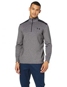 Under Armour Storm 1/4 Zip Haut Homme, Gris, L