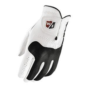 Wilson Staff Gant Conform – Couleur – Blanc-Noir, Joueur – Main Droite, Taille – L