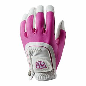 Wilson W/S FIT All LLH PKWH Gants Golf pour Femmes, Pink/White, One Size