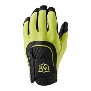 Wilson W/S FIT All MLH GRBL Gants Golf pour Hommes, Green/Black, One Size