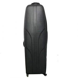 YAzNdom Airbag De Golf Hardtop Golf Club Voyage Sac for La Vie Quotidienne Peut Être Utilisé Lorsque L'avion Sac De Golf (Couleur : Noir, Taille : 130X40cm)