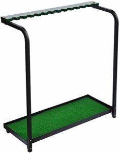YPYJ Club Rack Display Rack 13 Trous Golf Club Storage Rack Holder Green Rack Storage Driving Range Supplies for
