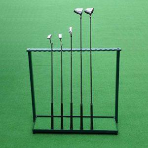 YPYJ Stand De Club De Golf 18 Racks Club Bâton Affichage Club Crémaillère Fournitures De Gamme Golf Club Conduite