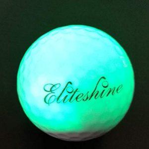 15 pièces ACEVER Night Glow Flash à LED en forme de balle de Golf (Assortiment de couleurs)