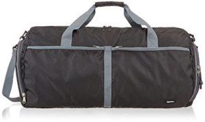 AmazonBasics Sac de sport/week-end repliable en tissu souple 59cm/64 litres