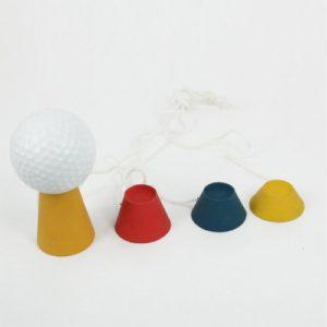 Andux Golf caoutchouc golf tees d'hiver 4 dans un jeu T-PT