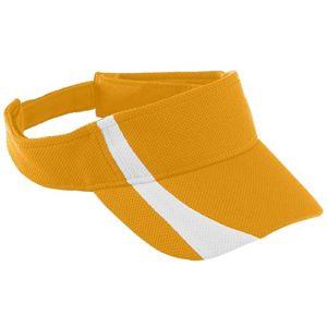 Augusta Sportswear Kids 'réglable absorbant en maille Bicolore Visière – Or – Taille Unique