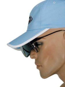 Bennington velours avec visière intégrée et lunettes de soleil