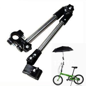 BlueBD Support de fixation de parapluie pour vélo, poussette, déambulateur, fauteuil roulant, caddie de golf ou autre chariot roulant