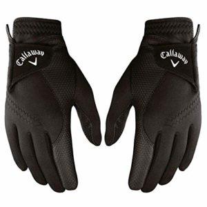 Callaway Paire de Gants de Golf pour Homme XL Noir