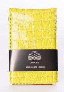 Dimples, Top Tendance Score Cartes Support en couleurs frais, vert Score Card Holder by Dimples, gruen