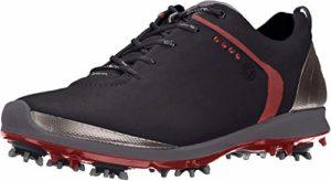 Ecco Biom G2–Chaussures de golf pour homme, Noir/Argent, 37-37,5 EU (M)