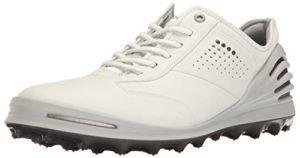 Ecco ECCO MEN'S GOLF CAGE PRO, shoes homme – Blanc (1007White), 43