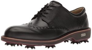 Ecco Men's Lux, Chaussures de Golf Homme, Noir (Black), 44 EU