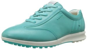 Ecco STREET EVO ONE Chaussures de golf pour femme Blanc – – Turquoise Firefly, 41 EU / 8-8.5 UK