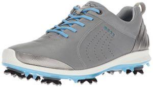 Ecco Women's Biom G 2, Chaussures de Golf Femme, Gris (Wild Dove/Sky Blue), 41 EU