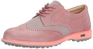 Ecco Womens Classic Hybrid, Chaussures de Golf Femme, Pink (50421PETAL/Petal Trim), 36 EU