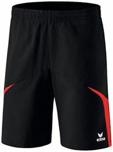 Erima Razor 2.0 Short Homme Noir/Rouge FR : L (Taille Fabricant : L)