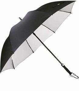 G4Free Grand Parapluie de Golf,Parapluie Grande Taille 60 Pouce Solide – Elegant Parapluie pour Homme Femme