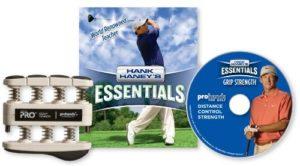 Hank Haney Essentials Pull «La Force de préhension» DVD et d'exercice pour la main, Heavy Tension / 9-pounds Per Finger (Strong Hands)