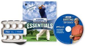 Hank Haney Essentials Pull «La Force de préhension» DVD et d'exercice pour la main, Light Tension / 5-pounds Per Finger (Light Resistance)
