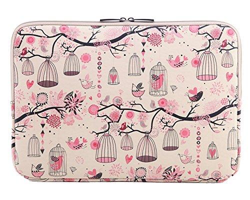 Housse Macbook Housse Ordinateur Portable à Motif Pochette Macbook Antichoc Sacoche pour MacBook Air / Ipad Pink 13-13.3 Inch