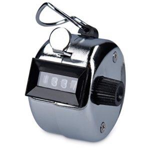 kwmobile compteur manuel click counter compteurs de quantité pédomètre mécanique