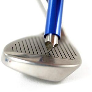 LEORX Outil de recreusage aiguiseur pour club de golf Bleu roi