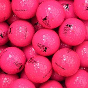 Links Choice 12 balles de golf couleur Rose