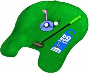 Longridge Potty Puttergolf Trainer Set de golf pour WC Vert