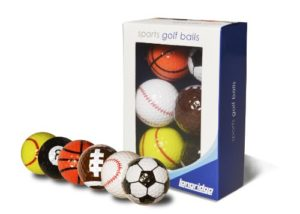 Longridge Sports Golf Balls – Multi