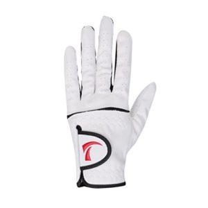 MagiDeal Gant de Golf En Cuir Synthétique Respirant Doux Pour Main Gauche de l'Homme – blanc, 25 #