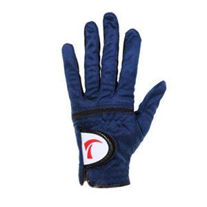 MagiDeal Golf Gant Plein Doigt Respirabilité à Maille Filet Elastique Super Doux Pour Main Gauche Homme – bleu royal , 23