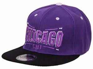 Midi Shopping – Casquette Snapback Pas Cher Cap Hat Flatbrim «Chicago» CAP 20CHI