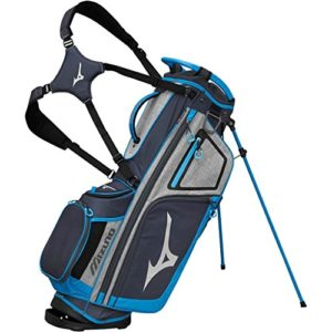 Mizuno BRD4S Sac de Golf Mixte Adulte, Gris/Bleu