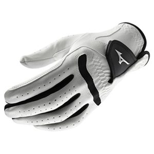 Mizuno Comp Men's Golf Glove, Left Hand, Small, White/Black