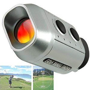MMRM Mini Numérique Monoculaire Télémètres golf Portée Yards Mesure de Distance – 7x Grossissement