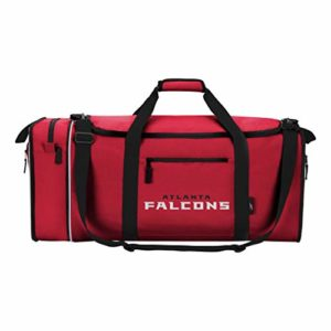 NFL Voler Duffel, mixte, Red, Measures 28-inches in Length, 11-inches in Width and 12-inches in Height