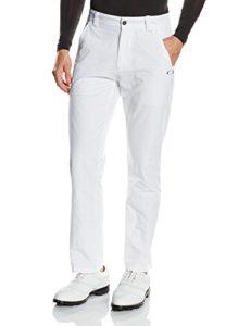 Oakley Take Pantalon de golf Homme Blanc FR : XXL (Taille Fabricant : 38X34)