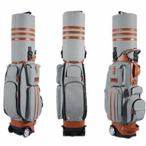 Peng Sounder-sp Voyage Vol Sport Sac Golf Sac de Golf Rigide avec remorqueur et airbag avec Mot de Passe Sacs de Voyage de Golf (Couleur : C, Taille : Free Size)