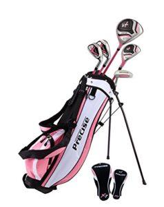 précis X7Junior complète club de golf pour enfants–3tranches d'Âge Tailles disponibles–garçons et filles–La Main droite et main gauche., Pink Ages 9-12