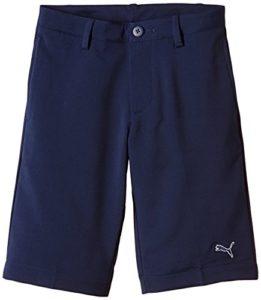 Puma Golf Tech Short Garçon Peacoat FR : 8 ans (Taille Fabricant : 128)