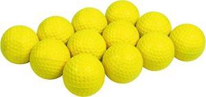 Spordas Balle de golf Jaune 4 cm