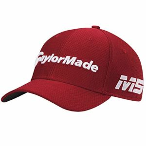 TaylorMade 2019 New Era Tour 39Thirty Bonnet, Mixte Adulte, Bombe, New Era Tour 39Thirty Hat, Rouge Cardinal, S/M