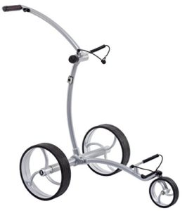 Trolley de golf électrique Ikarus DHC Slim Line – Silber